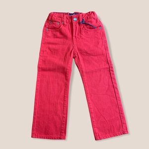 Lucky brand billy straight red jeans